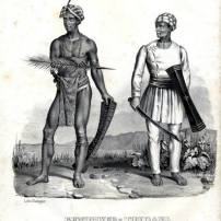"""not really davao, but just wondering if these tribes had made contact with our lumads from the way past. Plate No. 021c """"TONDANO INHABITANTS"""" Tondano Island in North Sulawesi is a province of Indonesia, and borders the province of Gorontalo. The islands of Sangihe and Talaud form the northern part of the province, which border Davao del Sur in the Philippines. BEWOHNER VON TONDANA Habitans de Tondano"""
