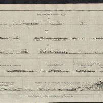 ebayfind: Admiralty Islands New Guinea Mindanao c.1785 Capt. Carteret antique view map lower right i am suspecting that it is mt apo or pujada bay or sarangani(?). but i maybe wrong. the note is three islands viewed from their anchoring place in the bay, the south end of mindanao. - paul.