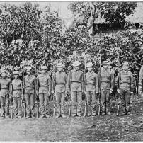 this is a better version than that of corcino's. Lieut. P. Garcia and Local Militia of Baganga, Caraga (East Coast). http://www.gutenberg.org/files/38081/38081-h/38081-h.htm#ch40 please note, to those wanting to pick up and share whatever that is in this page, don't forget to credit the owners of the photos or images. i have seen a lot of photos ending up in some page watermarked with their own logos as if claiming that it is theirs. there are a lot of people who take efforts to share whatever we can have of old davao despite privacy concerns. we the admins take effort scouring the net for anything old davao. and we would appreciate it that you who share it give credit where due.