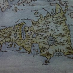 davao in the eye of europeans, ebayfind: Bellin 1752 PHILIPPINES Pilipinas Mindanao Davao. on the right is the fabled st john island.