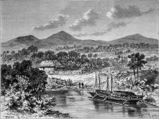 ebayfind: RARE: PHILIPPINES - ARROYO, on the eastern coast of MINDANAO - Engraving 19th i'm guessing somewhere in davao oriental towards caraga?